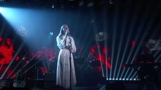 Folk Singer-Songwriter Tomberlin Made Her Late-Night Debut With A Stunning Performance On 'Kimmel'