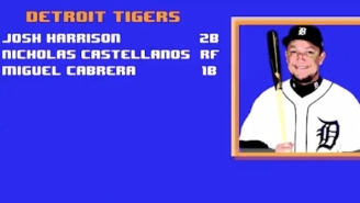 The Detroit Tigers Put Together An Amazing, Arcade-Inspired Lineup Video To Celebrate Opening Day
