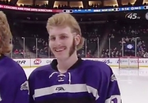 This Minnesota High School Hockey Team Has Some Incredible Hair