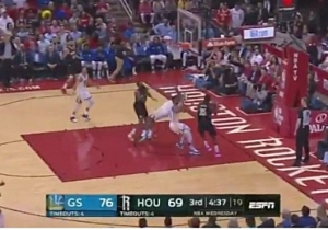 DeMarcus Cousins Had A Majestic Flop Against James Harden And The Rockets