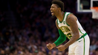 Marcus Smart Has A Torn Oblique And Could Miss Much Of The Playoffs