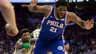 The NBA Fined Marcus Smart $50,000 For Shoving Joel Embiid