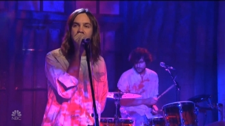 Tame Impala Debuted A Brand New Song Called 'Borderline' On 'Saturday Night Live'