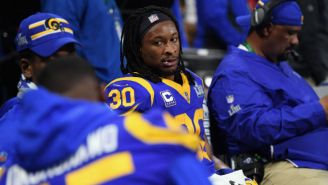 Todd Gurley Is Reportedly Dealing With Arthritis In His Left Knee
