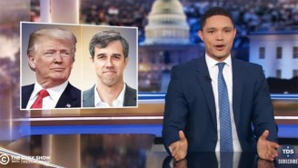 Trevor Noah Points Out That Trump Isn't Necessarily Wrong About Beto O'Rourke's Hand Gestures