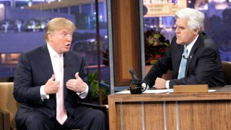 Trump Applauds Jay Leno's Complaint About 'One-Sided' Late Night Comedy (While Citing Fox News)