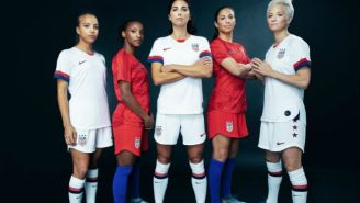 Nike's US Women's World Cup Jerseys Pay Retro Tribute To The '99'ers'