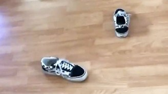 People Are Throwing Their Vans In The Air To Test A Theory That Must Be Sheer Sorcery