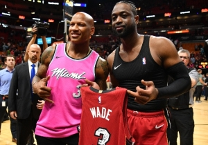 Dwyane Wade Gave Steelers Linebacker Ryan Shazier His Jersey And Praised Him For Being 'A Real Life Hero'
