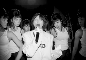 Spike Jonze Directed Karen O And Danger Mouse's Black And White Performance Of 'Woman' On 'The Late Show'