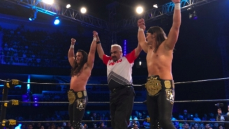 The Young Bucks Showed Up Unannounced To AAA Last Night