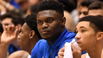 Zion Williamson Will Miss Duke's Rematch Against North Carolina