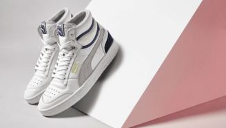 Puma's Latest Pair Of Basketball Shoes Honors Ralph Sampson