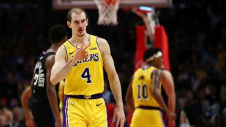 LeBron James Loved The Lakers Beating The Clippers On Alex Caruso's Career Night