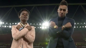 A 'Black Panther' Star Taught A Soccer Player How To Properly Do The 'Wakanda Forever' Salute