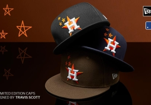 The Astros Will Release A Limited Run Of Hats Designed By Travis Scott