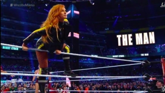 WrestleMania's First Women's Main Event Kicked Off With Some Epic Entrances