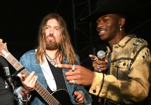 Lil Nas X And Billy Ray Cyrus Crashed Diplo's Stagecoach Set To Perform 'Old Town Road' For The First Time