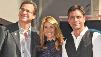 Bob Saget Tweeted And Deleted An Awkward Joke During Lori Loughlin's Court Appearance