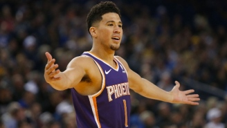The Suns Will Shut Down Devin Booker Due To His Ankle Injury