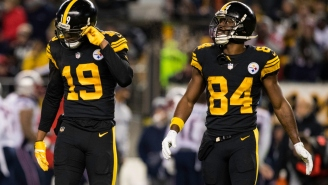 Antonio Brown Said JuJu Smith-Schuster 'Fumbled The Whole Post Season'