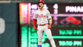 Bryce Harper Got The Last Laugh After He Was Booed In His Return To Washington