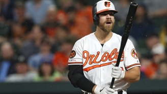 Chris Davis Set An MLB Record By Going 47 Consecutive Official At-Bats Without A Hit
