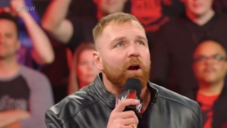 Dean Ambrose Showed Up And Gave Another Speech After Raw