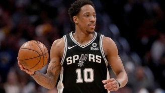 The NBA Fined DeMar DeRozan For Throwing A Ball Towards A Referee And Into The Stands