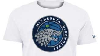 The Timberwolves Released 'Direwolves' Logo Merch For 'Game Of Thrones' Fans