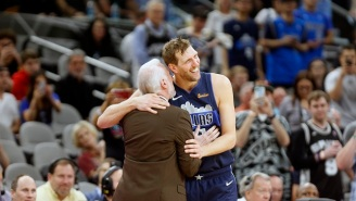Dirk Nowitzki Made His Final Basket Amid MVP Chants In San Antonio