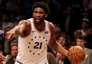 Joel Embiid's Flagrant Foul In Game 4 Of Nets-Sixers Reportedly Won't Be Rescinded