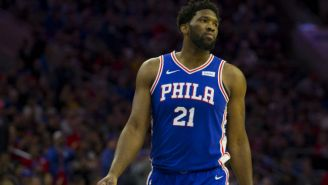 Joel Embiid Tweets The Sixers Were 'One Hand Wash Away' From Being In The Spot The Raptors Are In