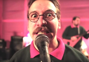 The Ned Flanders-Themed Metal Band Okilly Dokilly Appeared On 'The Simpsons'