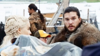 George Lucas Helped Direct A 'Game Of Thrones' Scene With Jon Snow And Dany During His Surprise Set Visit