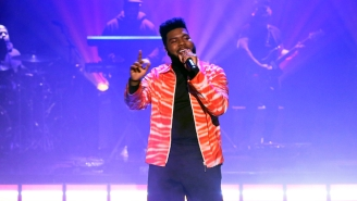 Khalid Performed His Single 'Talk' On 'Fallon' In Celebration Of His Album Release