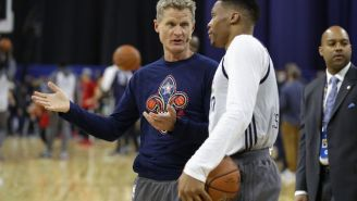Steve Kerr Thinks Russell Westbrook's Approach To The Media Is 'Dangerous'