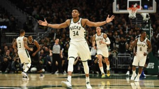 Giannis Antetokounmpo Dominated In A Game 4 Win In Detroit As The Bucks Complete A Sweep
