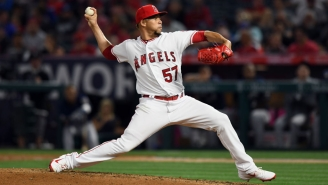 Angels Pitcher Hansel Robles Has An Amazing Entrance Video Set To The Undertaker's Music