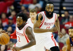 Patrick Beverley Appeared To Give Jae Crowder A Crash Course In Defending James Harden