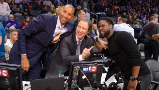 The Best Part Of The Sixers-Nets Blowout Was Kevin Harlan's Call Of Fans Getting Free Frosties