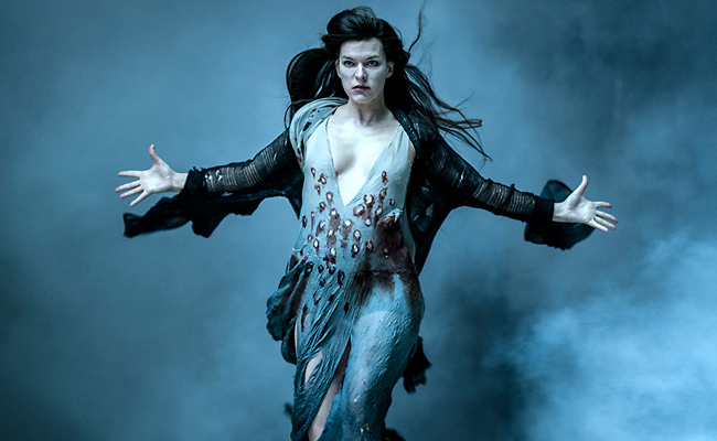 Milla Jovovich in Hellboy
