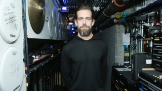 Jack Dorsey Got Trolled By Twitter Users On The Big Screen Behind Him During His TED Talk