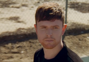 James Blake And Rosalia's 'Barefoot In The Park' Video Starts And Ends With A Fiery Car Crash