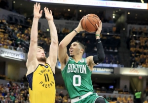 The Celtics Completed Their Sweep Of The Pacers To Advance To The Conference Semifinals