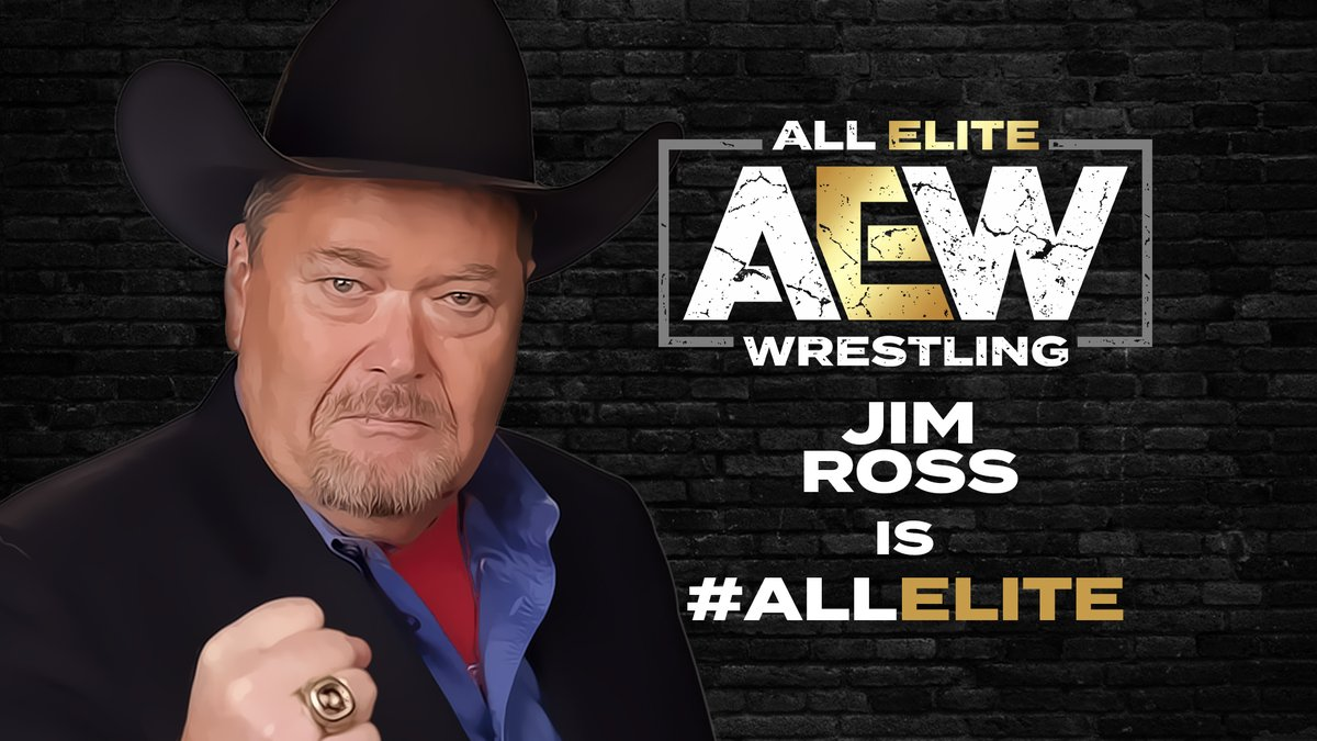 Jim Ross Has Officially Joined AEW, But Not As An Announcer