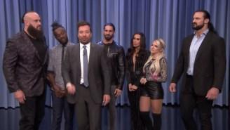 Six WWE Superstars Cut Playground Promos On Jimmy Fallon