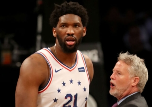 Joel Embiid Called Jared Dudley A 'Nobody' After Their Game 3 Skirmish