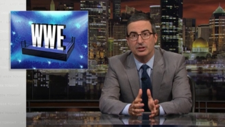 John Oliver Discussed A 'Morally Subterranean' WWE On 'Last Week Tonight'
