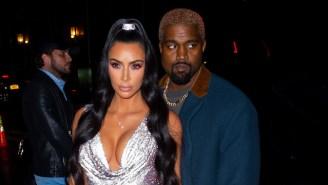 Kanye And Kim Kardashian Jokingly Surprised A Hollywood Tour Bus While Leaving Sunday Service
